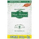 マックヘナ ナチュラルオレンジ2 お徳用 400g(100g×4) hs 【あす楽】【送料無料】