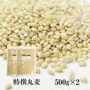 特選丸麦 500g×2(1kg)〔チャック付〕/国産 メール