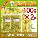 乾燥キャベツ100g×2〔チャック付〕/九州産 乾燥野菜 きゃべつ