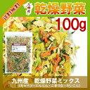 乾燥野菜ミックス 100g/九州産 乾燥野菜 キャベツ 小松菜 大根 人参