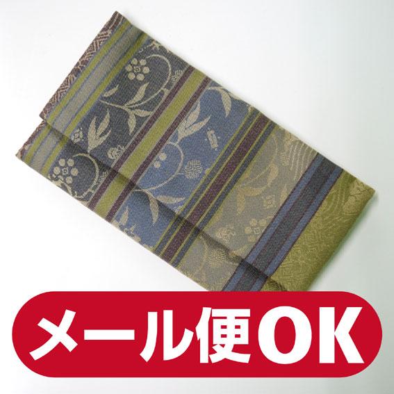 ■数珠袋(念珠入れ)■名物裂写数珠袋(寄裂横段・紺入)