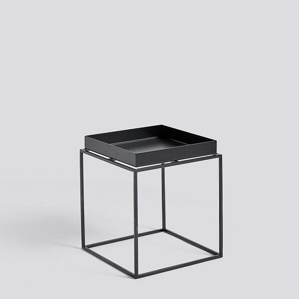 RoomClip商品情報 - HAY (ヘイ) TRAY TABLE S square サイドテーブル/コーヒーテーブル ブラック 北欧家具 【受注発注の為キャンセル/返品不可】【大型送料】