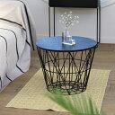 ferm LIVING (ファーム リビング)Wire Basket (ワイヤーバスケット) Mブラック北欧/インテリア/家具/日本正規代理店品【大型送料】
