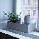 ferm LIVING (ファーム リビング)Plant Box (プラントボックス) Sライトグレー北欧/インテリア/日本正規代理店品