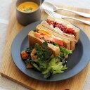 kura (クラ) Ena (エナ) リムプレート 24cm スレートグレー/マット 和洋食器/食器/皿