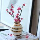 1月中旬頃発送予定!復刻決定! Kahler(ケーラー) 175周年記念 オマジオアニバーサリーベースS ブラス 花瓶 陶器 日本正規代理店品