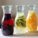 Weck (ウェック)Juice Jar ガラスキャニスター/カラフェ we764【フタのサイズS】