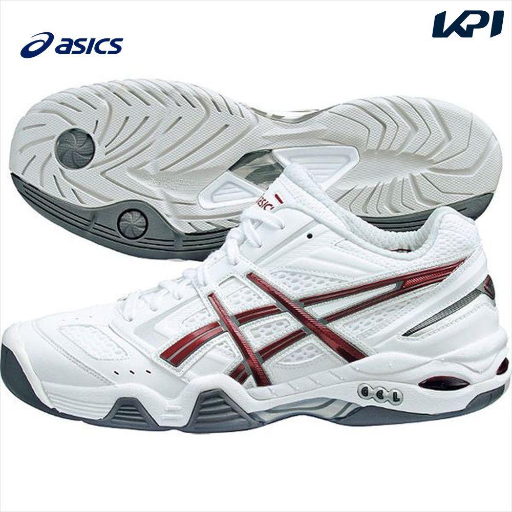 asics(アシックス)「トップシード I-dual(アイデュアル) TLL685-0126」ハードコート用テニスシューズ