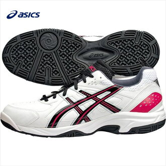"Asics (ASICS) ""GEL-VELOCITY 2 OC TLL733"" artificial leather tennis shoes for tennis grass courts."