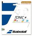 『即日出荷』BabolaT(バボラ)「トニックプラス ボールフィール BA201026」硬式テニスストリング(ガット)[ネコポス可]「あす楽対応」