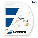 Babolat(バボラ)「ORIGIN(オリジン) BA241126 」硬式テニスストリング(ガット)【KPI】