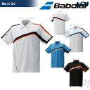 「2016新製品」Babolat(バボラ)「Unisex ゲームポロシャツ BAB-1617」テニスウェア「2016SS」