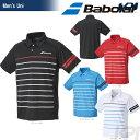 「2017新製品」バボラ(Babolat)「Unisex ショートスリーブシャツ BAB-1764」テニスウェア「2017FW」【店頭受取対応商品】