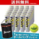 「ボールバッグプレゼント」DUNLOP(ダンロップ)「FORT(フォート)[4個入]1箱(30缶/120球)」テニスボール