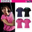 【エントリーで全品5倍】GOSEN(ゴーセン)「レディース ゲームシャツ T1507」テニスウェア「2015SS」