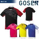 GOSEN(ゴーセン)「UNI ゲームシャツ T1706」テニスウェア「2017SS」 ポスト投函便対応