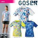 ゴーセン GOSEN テニスウェア レディース ゲームシャツ T1813 2018SS ポスト投函便対応