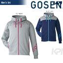 「2016新製品」GOSEN(ゴーセン)「UNI 裏フリースジャケット UW1600」テニスウェア「2016FW」【KPI】