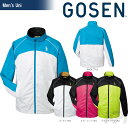 GOSEN(ゴーセン)「UNI ユニ ウィンドウォーマージャケット(裏起毛) Y1502」テニスウェア「2015FW」