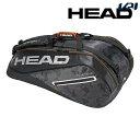 ヘッド HEAD テニスバッグ・ケース Tour Team 9R Supercombi 283118-BKSI