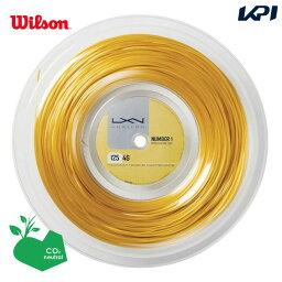 「あす楽対応」LUXILON(ルキシロン)「LUXILON 4G 125 200mロール WRZ990141」硬式テニスストリング(ガット) 『即日出荷』