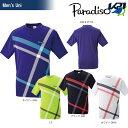 「2016新製品」PARADISO(パラディーゾ)「メンズハンシャツ 56CM9A」テニスウェア「2016SS」