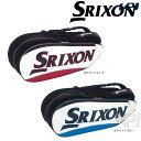 【全品10%OFFクーポン】SRIXON(スリクソン)「PRO LINE ラケットバッグ(ラケット8本収納可)SPC-2782」テニスバッグ