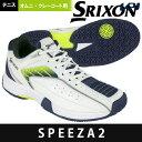 スリクソン SRIXON テニスシューズ メンズ SPEEZA2 OMNI & CLAY スピーザ2 オムニ&クレーコート用テニスシューズ SRS-675WN SRS675WN