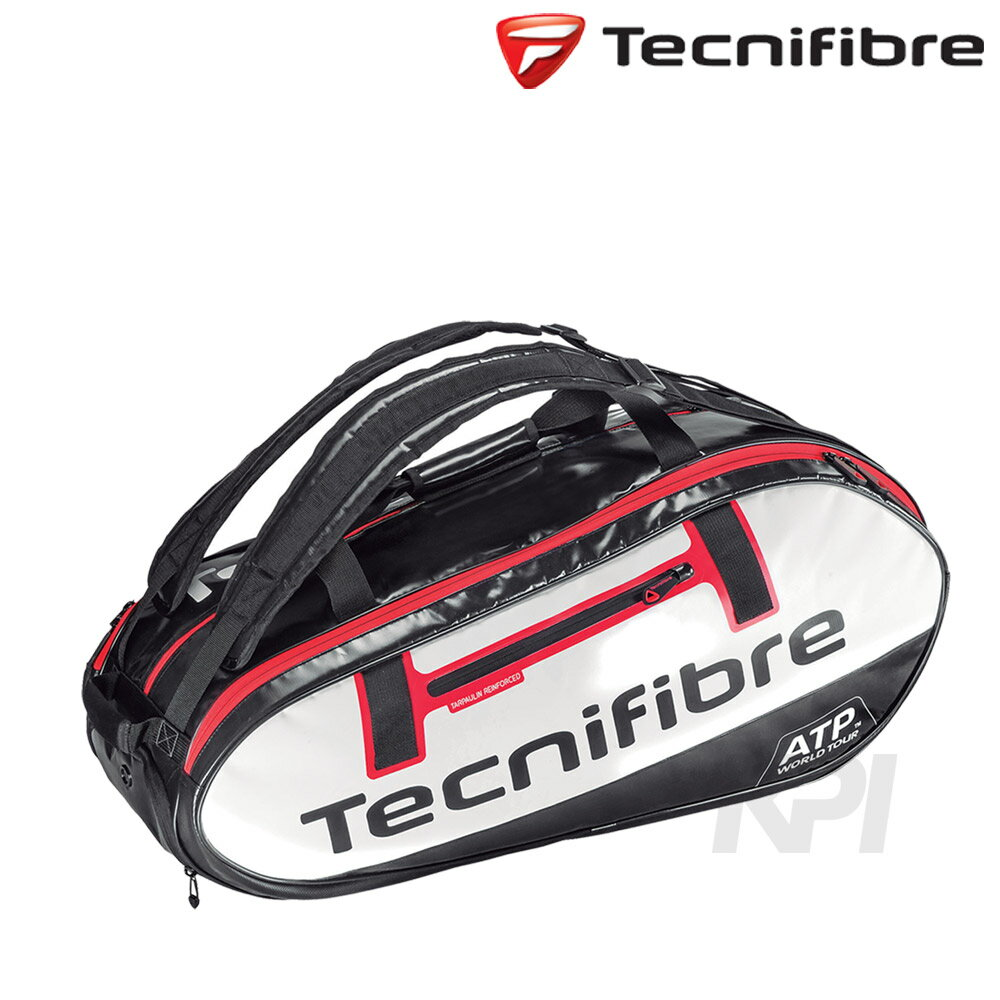 「2016新製品」Tecnifibre(テクニファイバー)「PRO ATP 10R(ラケット10本入) ラケットバッグ TFB062」テニスバッグ