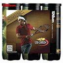 『即日出荷』Wilson(ウイルソン)【US OPEN EXTRA DUTY(エクストラ・デューティ)Federer 3缶パック〔9球〕 WRT107100P-3】テニスボール
