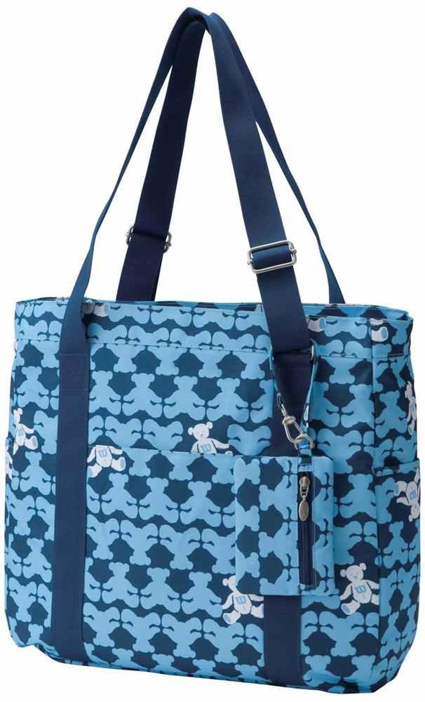 Wilson fair ( Wilson ) Wilson ' BEAR TOTE BAG ( bracket 1 pieces ) tote bag WRZ642289 Navy ' tennis bug 'enabled'