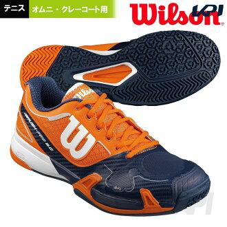 [樂天市場]供WILSON(威爾遜)網球鞋全·紅土網球場使用的高峰專業2.0 OMNI WRSW320950 50%OFF