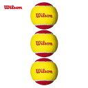 Wilson(ウイルソン)「STARTER EASY BALL(スターター・イージー・ボール) WRT137001」テニスボール