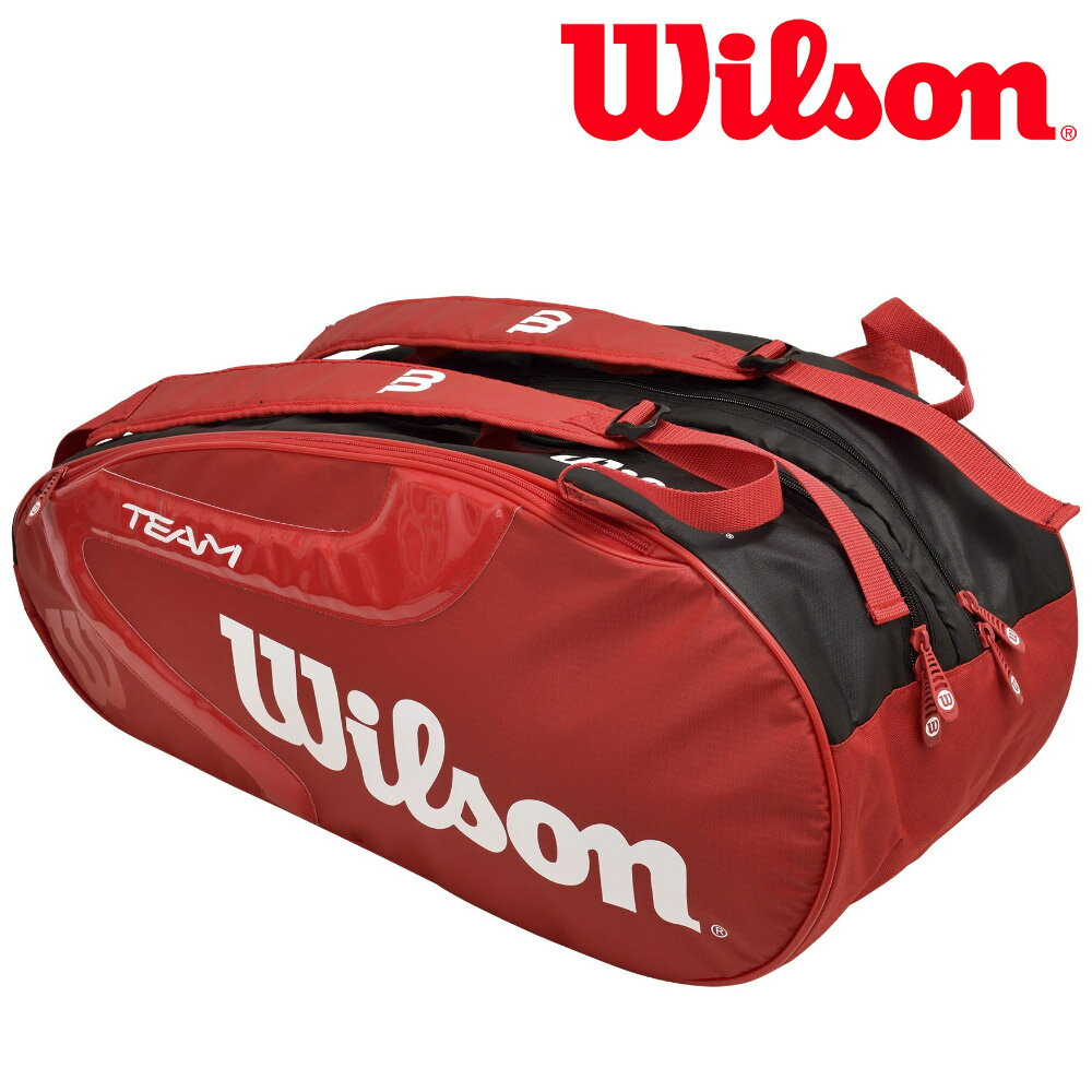 全品10%OFFクーポン対象「あす楽対応」ウイルソンWilsonテニスバッグ・ケースTEAMJ209