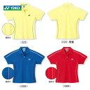 『即日出荷』YONEX(ヨネックス)「Ladies レディースシャツ(スリムタイプ)20153」ソフトテニス&バドミントンウェア 「あす楽対応」