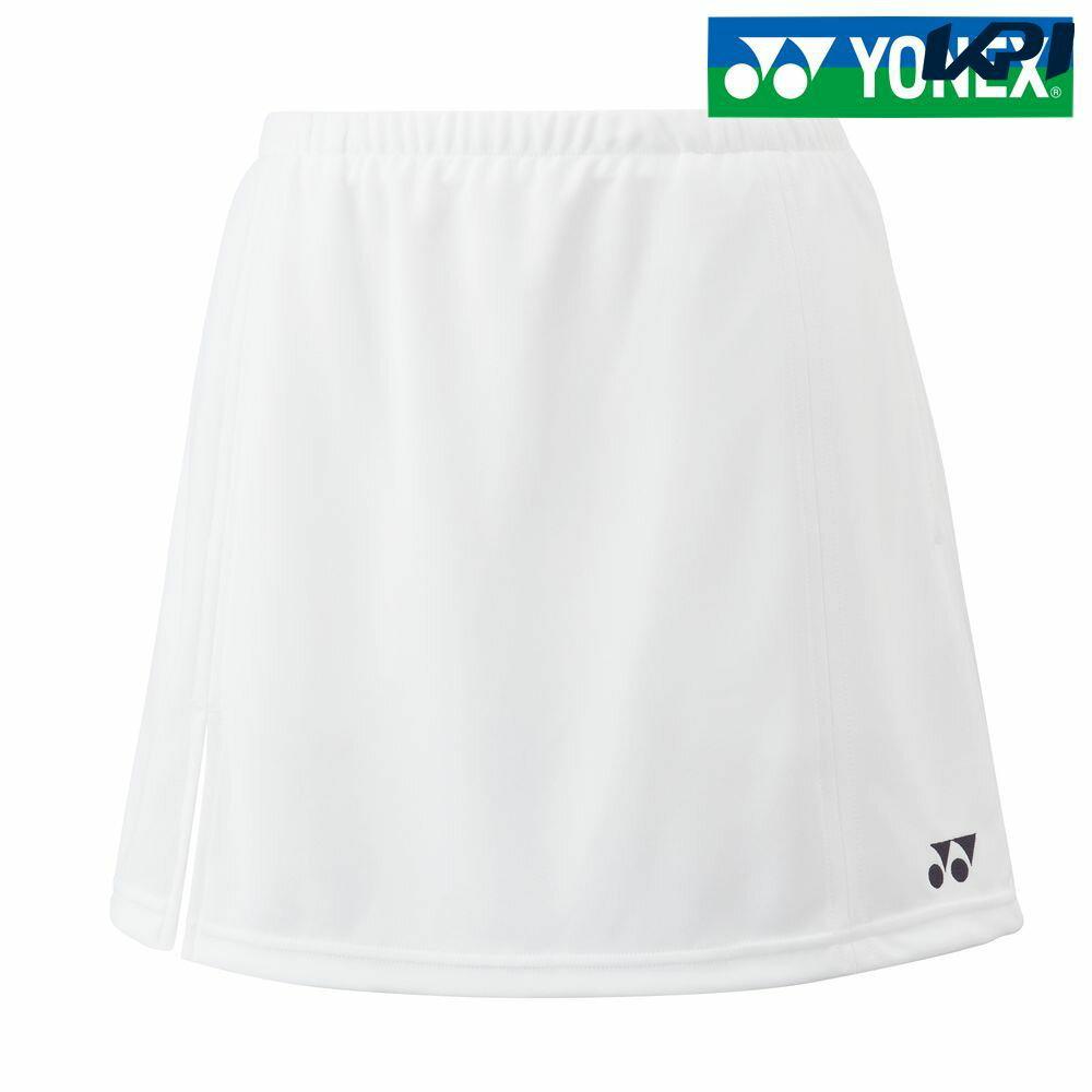 ヨネックスYONEXテニスウェアJUNIORスカート/インナースパッツ付/両脇ポケット付26046J