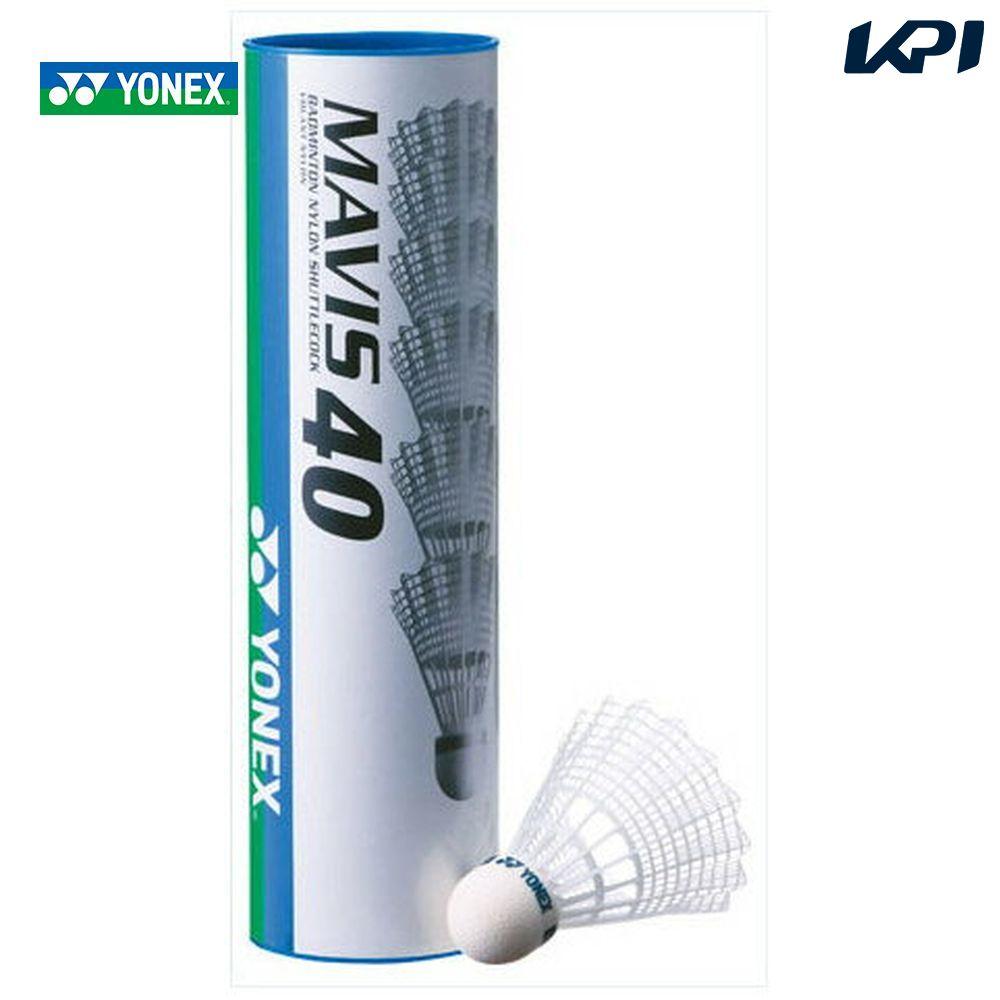 "YONEX (Yonex) ""Mavis 40 p 1 case (6 PCs x 10) M-40P"" Shuttlecocks"