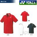 【全品10%引クーポン対象】「2016モデル」YONEX(ヨネックス)「Uni ポロシャツ(スタンダードサイズ) 10152」ウェア「2015FW」