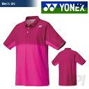 【ポイント10倍】「2016新製品」YONEX(ヨネックス)「Uni ユニポロシャツ 12147」テニス&バドミントンウェア「2016SS」