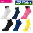 【ポイント10倍】「2016新製品」YONEX(ヨネックス)「Ladies ウィメンズアンクルソックス 29101」テニス&バドミントンウェア「2016SS」