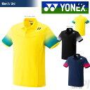 「2017新製品」YONEX(ヨネックス)「UNI ポロシャツ(フィットスタイル) 10183」ウェア「2017SS」【kpi_soy】