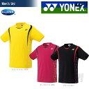「2017新製品」YONEX(ヨネックス)[ユニシャツ(フィットスタイル) 10209]テニス&バドミントンウェア「2017SS」【kpi_d】