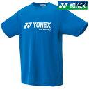ヨネックス YONEX テニスウェア ユニセックス ユニベリークールTシャツ 16201-506 2018SS