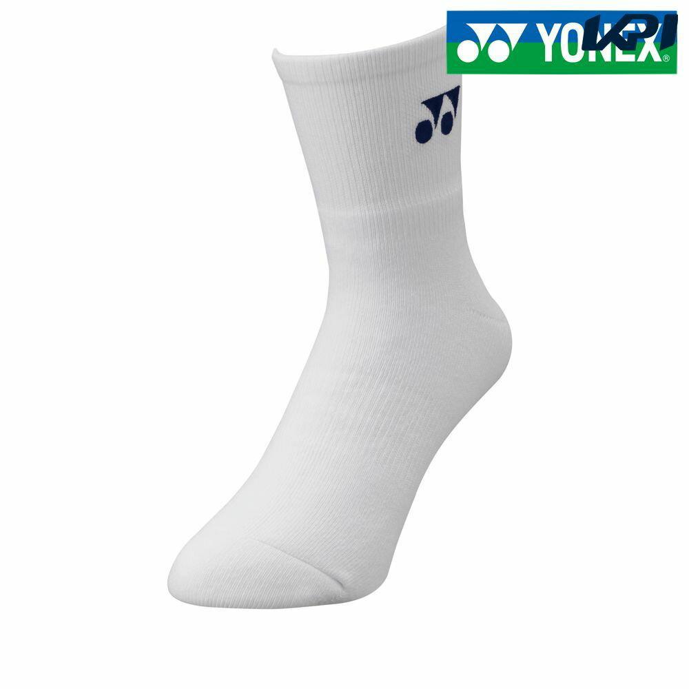 『全品10%OFFクーポン対象』ヨネックス YONEX テニスアクセサリー メンズ メンズハーフソックス 19122-011[ネコポス可]