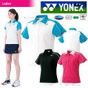 【ポイント10倍】「2016新製品」YONEX(ヨネックス)「Ladies レディース ポロシャツ 20312」テニスウェア「2016SS」