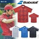 「あす楽対応」 バボラ(Babolat)「Unisex ショートスリーブシャツ BAB-1757」テニスウェア「2017FW」『即日出荷』