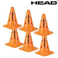 ヘッド HEAD テニスコート用品 BIG CONES(ビッグ・コーン)6個 287511の画像