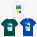 ショッピングラコステ 「あす楽対応」ラコステ LACOSTE テニスウェア メンズ Tシャツ Tee shirts TH9683L 2021SS 『即日出荷』