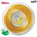 「あす楽対応」LUXILON(ルキシロン)「LUXILON 4G 130 200mロール WRZ990142」硬式テニスストリング(ガット)『即日出荷』