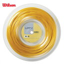 LUXILON(ルキシロン)「LUXILON 4G 130 200mロール WRZ990142」硬式テニスストリング(ガット)
